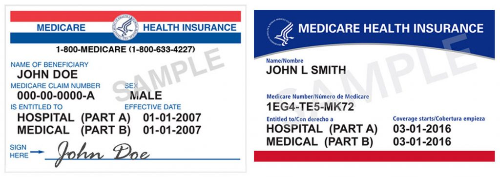 New Medicare ID Cards